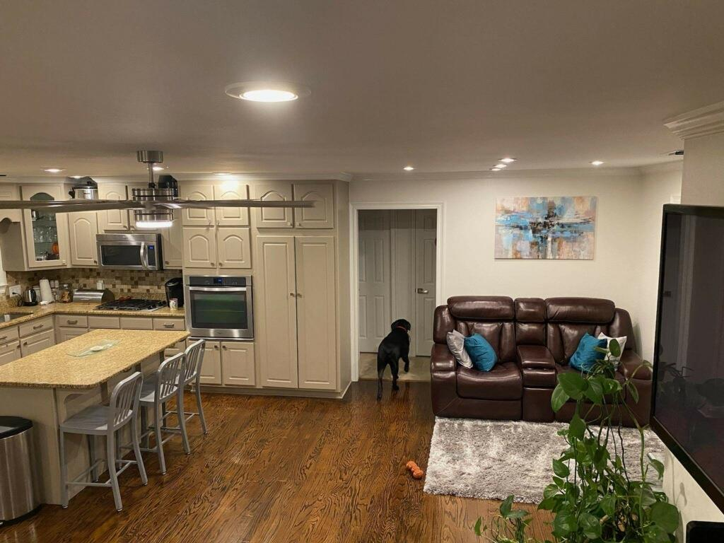 Open Kitchen,/Living/Dining